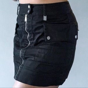 MK Black Mini Skirt